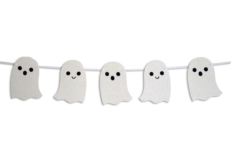 Halloween Ghost Banner Ghost Garland Halloween Decoration Etsy