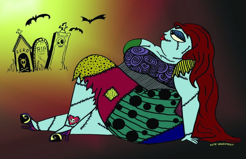 Curvy Sally Nightmare Before Christmas image 0