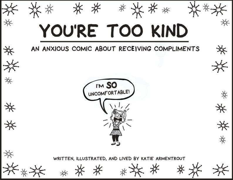 You're Too Kind: An Anxious Comic About Receiving image 0