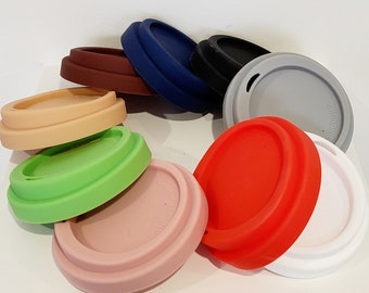 Lid for Keep Cup - Silicone in various colours