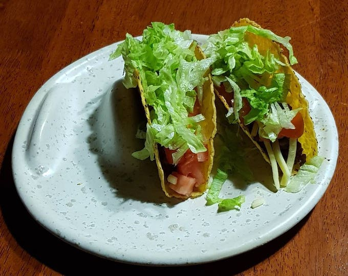 Individual Taco Plate