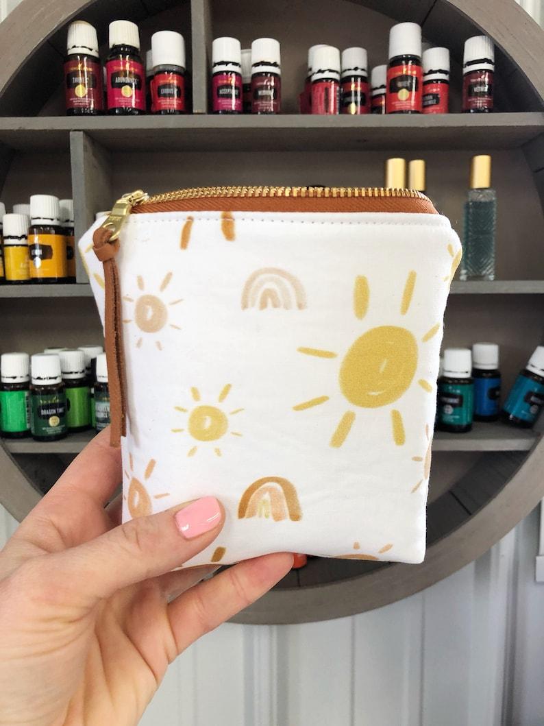 SUN Essential Oil Bag Essential Oil Case Tassel Essential image 0