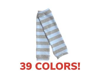 Striped Leg Warmer (Baby leg warmers, toddler leg warmers, kids leg warmers, girls leg warmers, dance leg warmers, costume leg warmers)