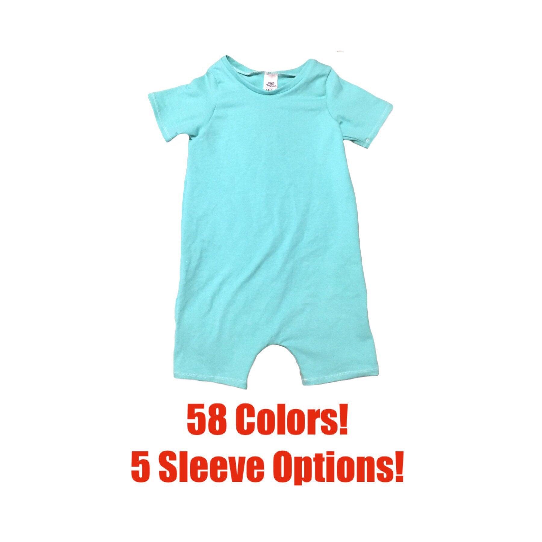 e51354044b94 Solid Short Romper Toddler Romper Solid Romper Baby