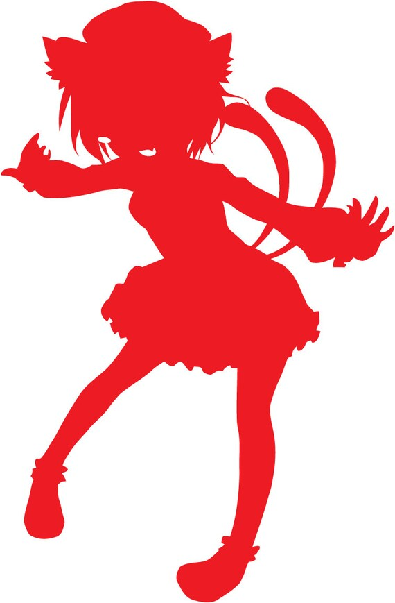 Touhou Project Chen Character Decal sticker