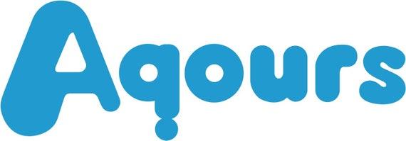 Love Live Aqours logo decal sticker Sunshine!