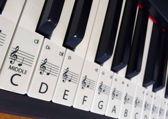 Luscious image intended for piano key stickers printable