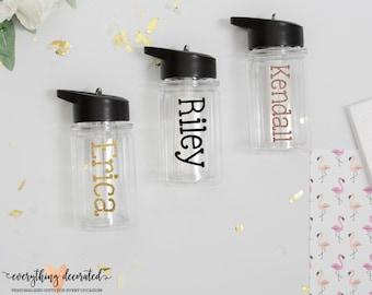 Personalized Water Bottle, Kids Water Bottle, Kids Cups, Kids Tumblers, Kids Gift, Kids Gift Ideas, Kids Glasses, Gift for Kids, Tumbler