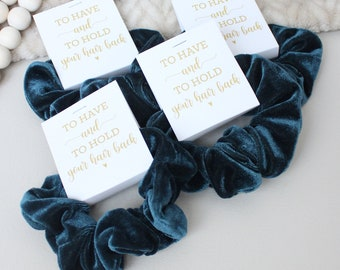 I Can't Tie The Knot Without You, Hair Scrunchie Bridesmaid Proposal Gift, Bridesmaid Box Items, Bridal Party Favor, Ask Bridesmaid Gift