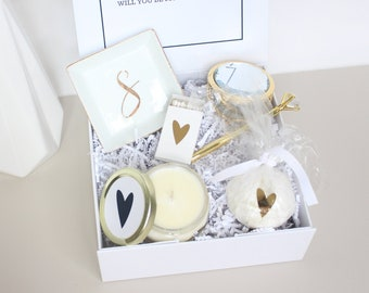 Bridesmaid Proposal Box Personalized Bridesmaid Box Will You Be My Bridesmaid Box Bridesmaid Gift Box EMPTY inside for Asking Bridesmaids
