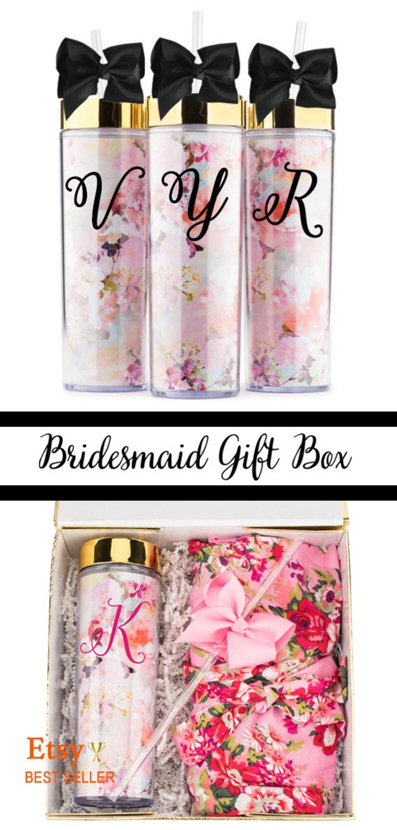 bridesmaid gift floral robesbridesmaid robe floral robe image 0