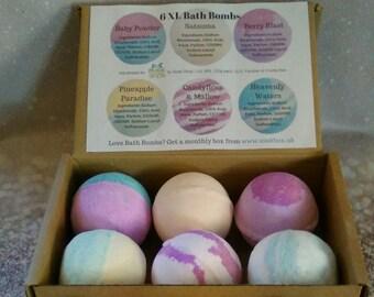 Luxury Bath Bomb gift box