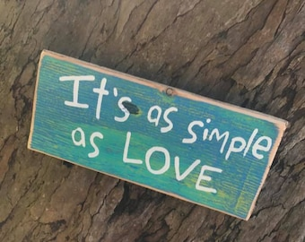 It's as simple as love - Aloha Tommy