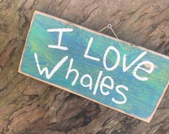 I love whales - Aloha Tommy