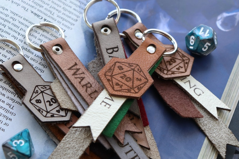 RPG race keychain