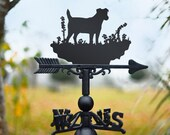 Jack Russel Weathervane Farmyard, Cottagecore, Countryside Chic Garden and Outdoor Living Dog Lovers and Owners Gift