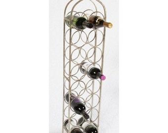 Monticello Double Row Wine Rack