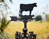 Forge Weathervane Cow