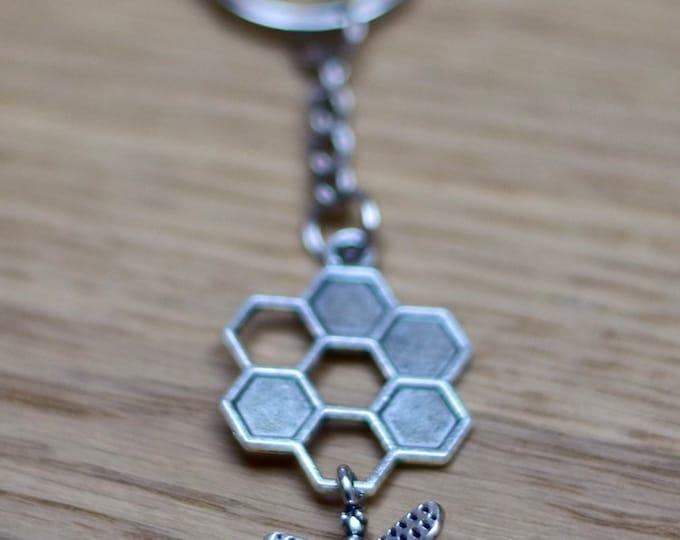 Honey Bee Keychain