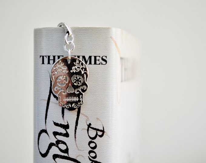 Featured listing image: Sugar Skull Bookmark