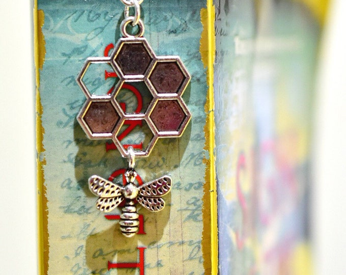 Honey Bee Bookmark