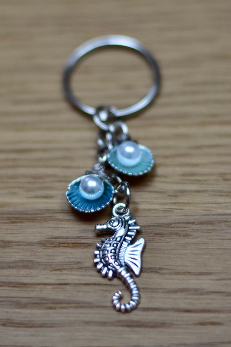 Seahorse Keychain image 0