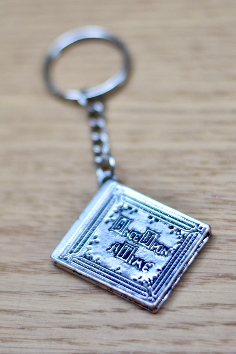 Story book Once upon a time Keychain image 0