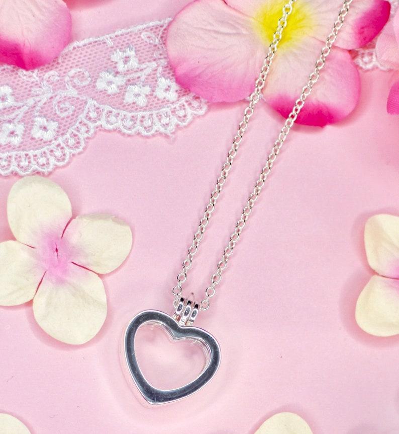 Memory Heart Locket Necklace image 0