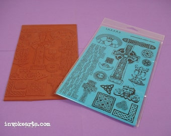 Cross Rubber Stamp