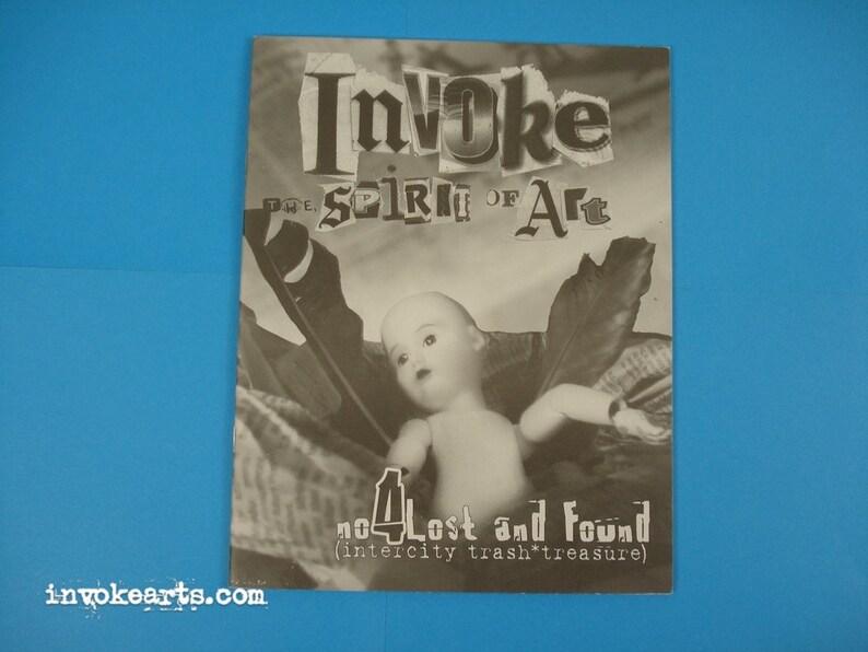 Invoke the Spirit of Art / Arts Zine 4 Lost and Found image 0