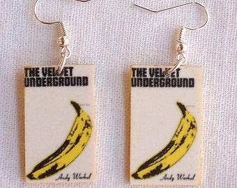 The Velvet Underground & Nico Earrings