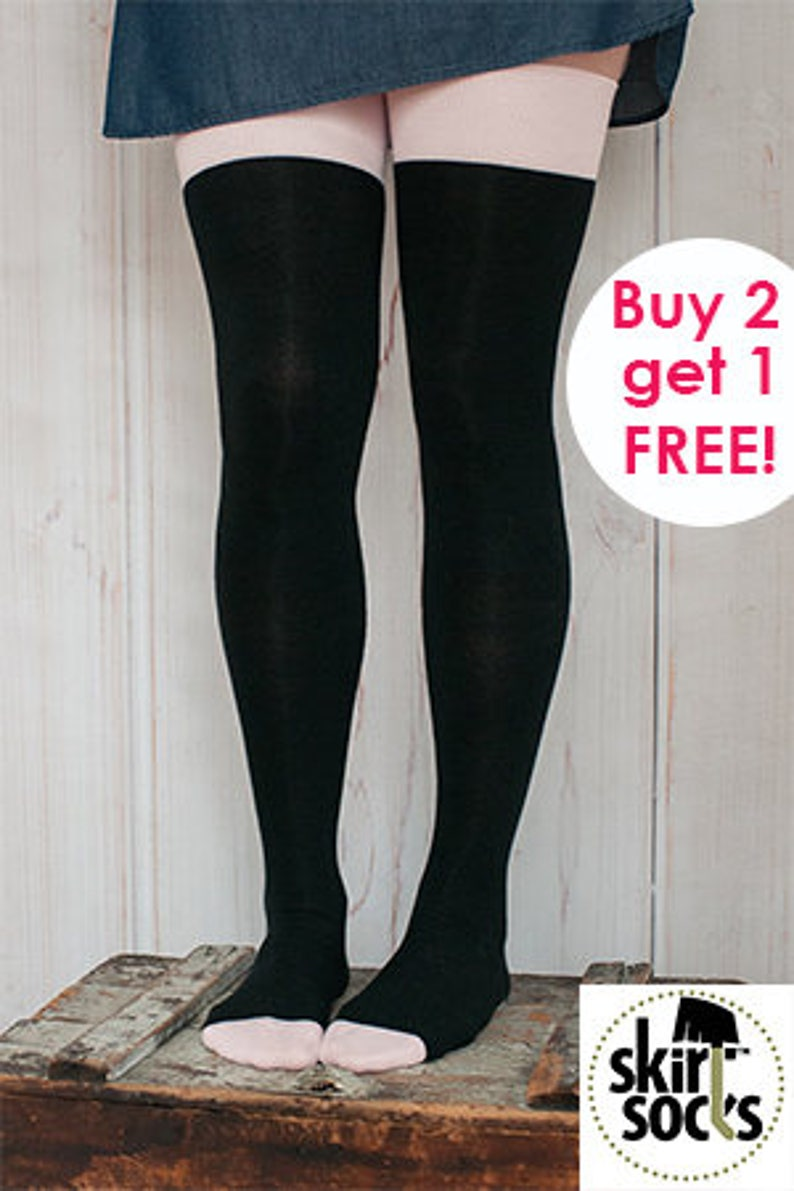 Buy 2 GET a FREE Pair of Winter White Skirt Socks: the image 0