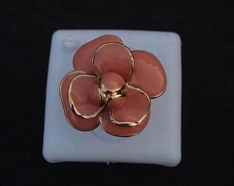 Powder Pink Rose ring