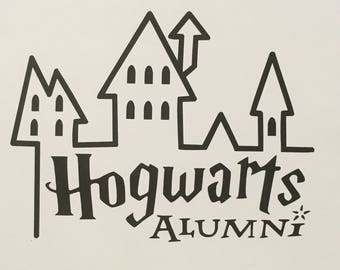 Vinyl Decals for car or laptop: Clever Girl, Hogwarts Alumni and Powered by Pixie Dust
