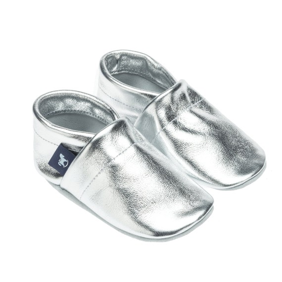 Leather slippers Baby Shoes Walking