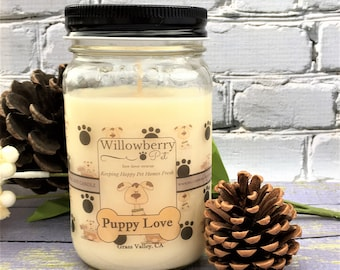 Dog Lover Candles