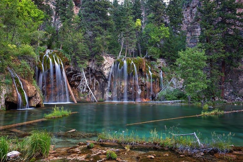 Hanging Lake Glenwood Springs Colorado Fine Art Etsy