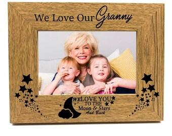 Shabby personnalisé chic ensemble cadeau special nana nanny mamie nan nanna granny