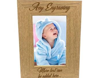 Engraved Photo Frame Etsy