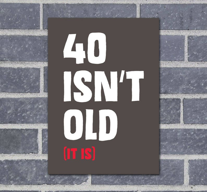 40th Birthday Card Dad Funny Cards Husband