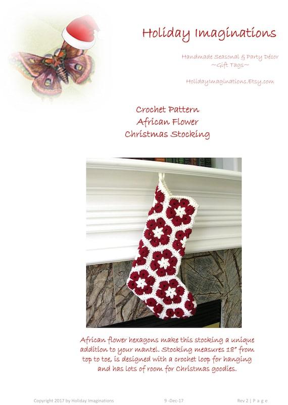 Funky Crochet African Flower Pattern Image - Sewing Ideas ...