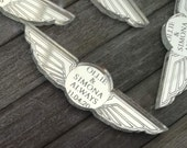 PILOT WINGS Personalised Wedding Party Table Confetti Airline Travel theme, Cabin Crew etc