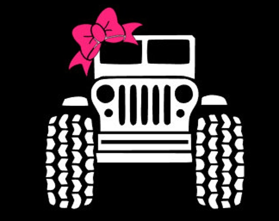 Free Shipping-Jeep Decal, Monogrammed Jeep Decal, Sticker,Yeti Decal, Car Decal, Tumbler Decal, Jeep Monogram, Jeep Gift, Personalized