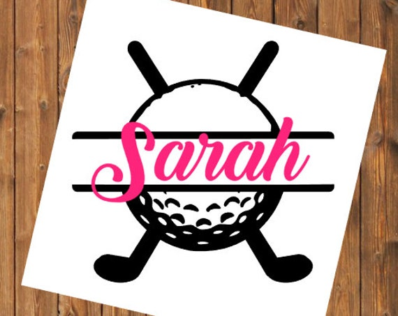 Free Shipping-Golf Decal, Yeti RTIC SIC Cup Decal Sticker, Car Window Decal, Laptop Golf, Personalized Decal Sticker, Golf Club Putter Tee