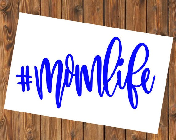 Free Shipping-Mom Life, Boy Girl Mom, Mother's Day, Yeti Rambler Decal, RTIC Tumbler Sticker Decal, Laptop Sticker, Southern Decal Sticker