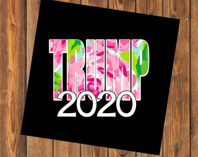 Free Shipping-Trump 2020 Decal, Trump My President, Republican/Political Decal Bumper Sticker, Drain the Swamp, MAGA 2020