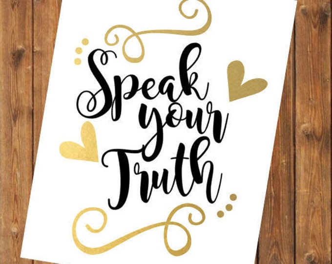 Free Shipping-Speak Your Truth, BeYOUtiful, Pink, Yeti Rambler Decal, RTIC Corksickle Tumbler Sticker Decal, Laptop Sticker, Southern Decal