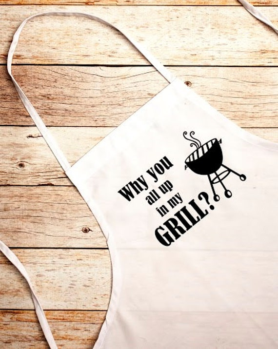 BBQ Apron,Father's Day,Gift for Him, Up In my Grill, Grill Master, Bar-b-que pit, summer, outdoors, cook, chef, Father's Day Gift
