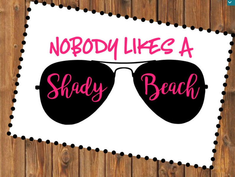08154213467c Free Shipping-Nobody Likes a Shady Beach Ray Ban Sunglasses