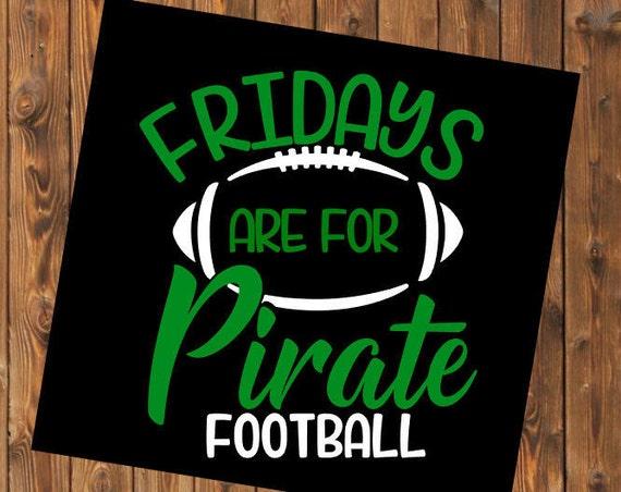 Free Shipping-Fridays are for Football Decal, Cheerleader, High School Game, Football season Jersey, Yeti, Laptop, Sport, Football Love